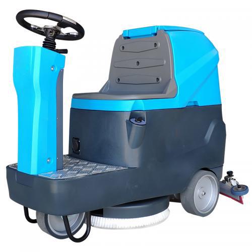 凯腾KTX60油污地面小型驾驶式洗地机